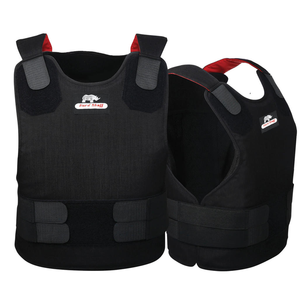 stab resistance vest in black colour