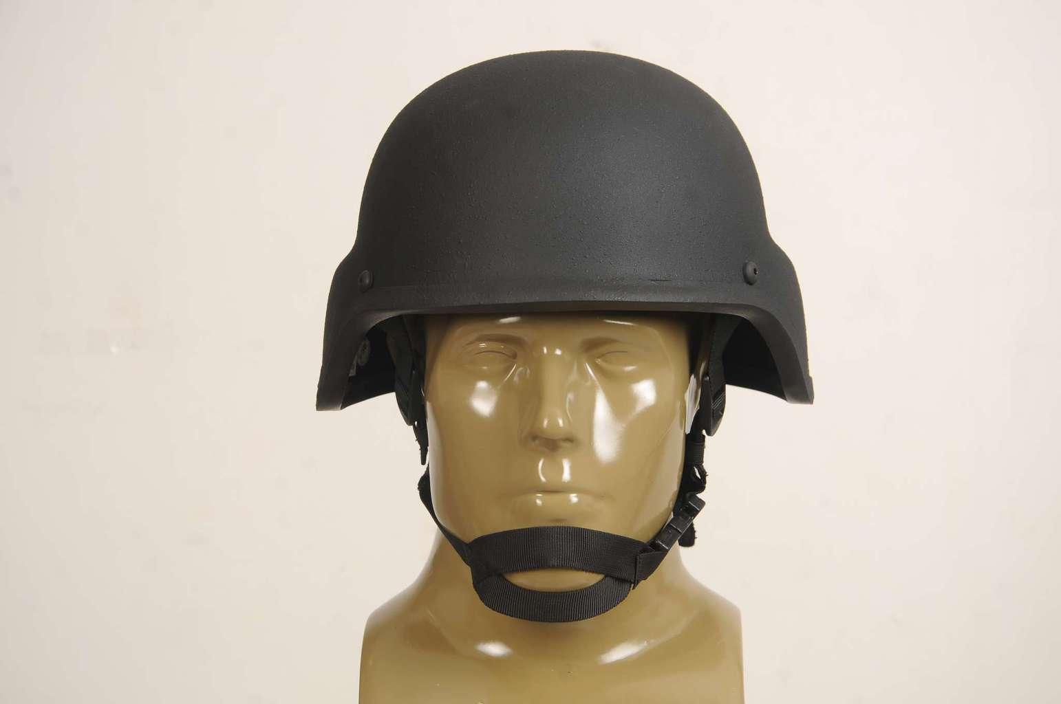 Ultra lightweight helmet for military