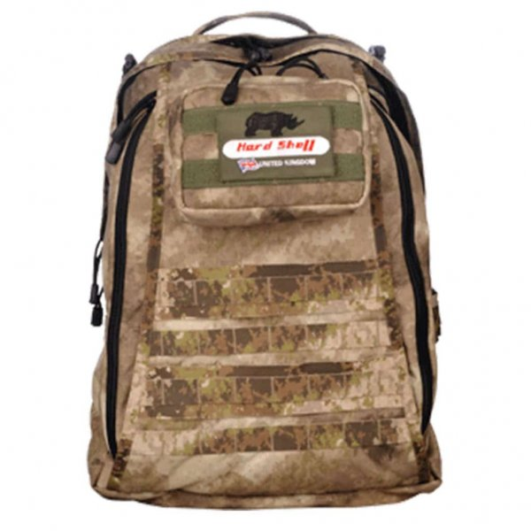 tactical backpack for military in tan colour
