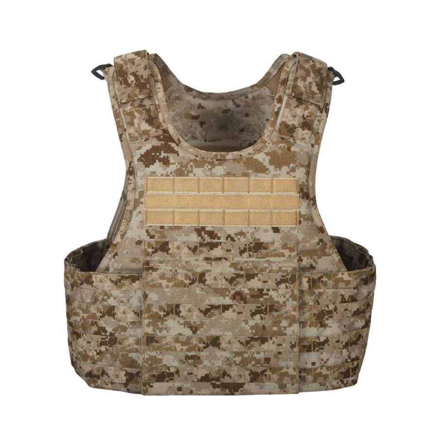 Scalable plate carrier vest