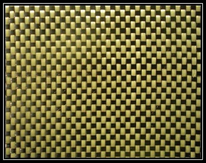Kevlar fabric pattern