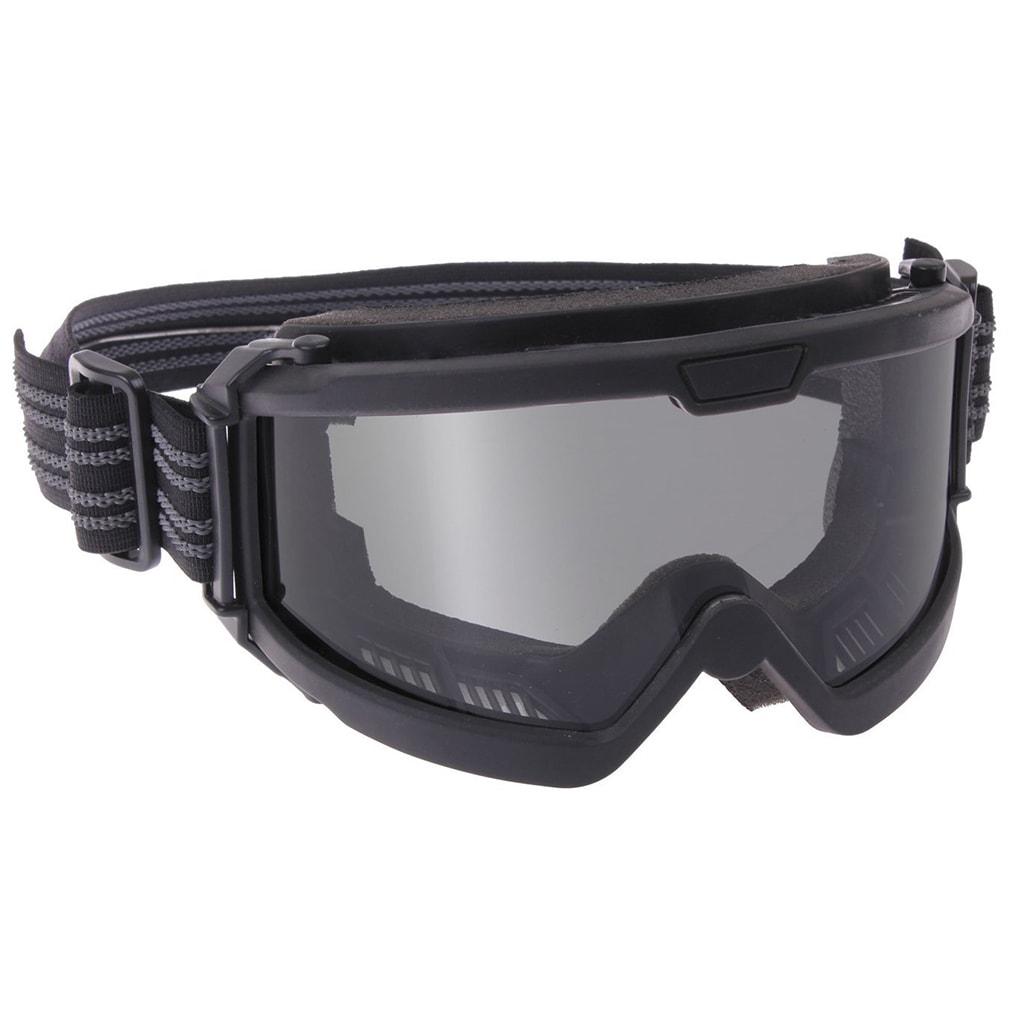 Ballistic safety glasses black
