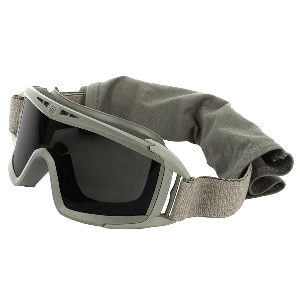 Ballistic safety glasses gray