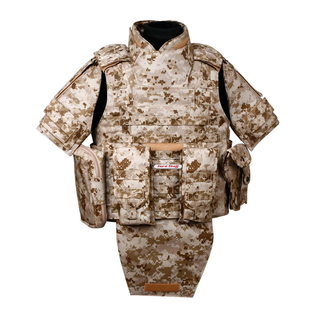 full body ballistic armor