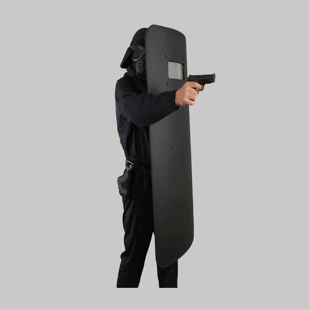bullet resistant shield & bulletproof body shield