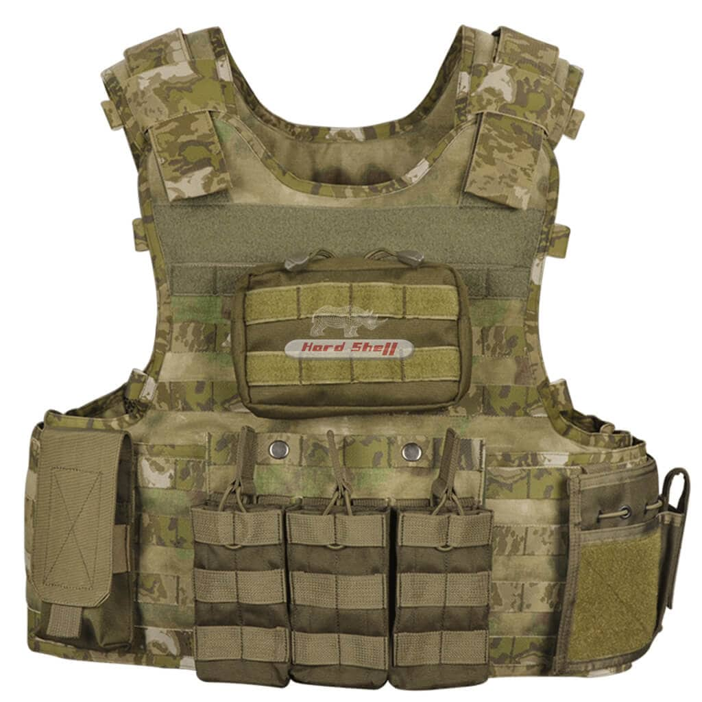 Tactical vest, tactical body armor, tactical bullet proof vest