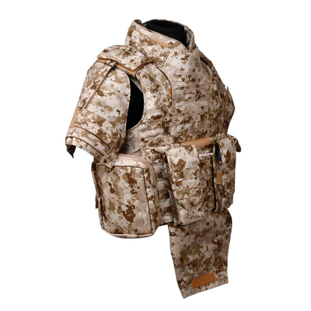 full body ballistic armor in dubai