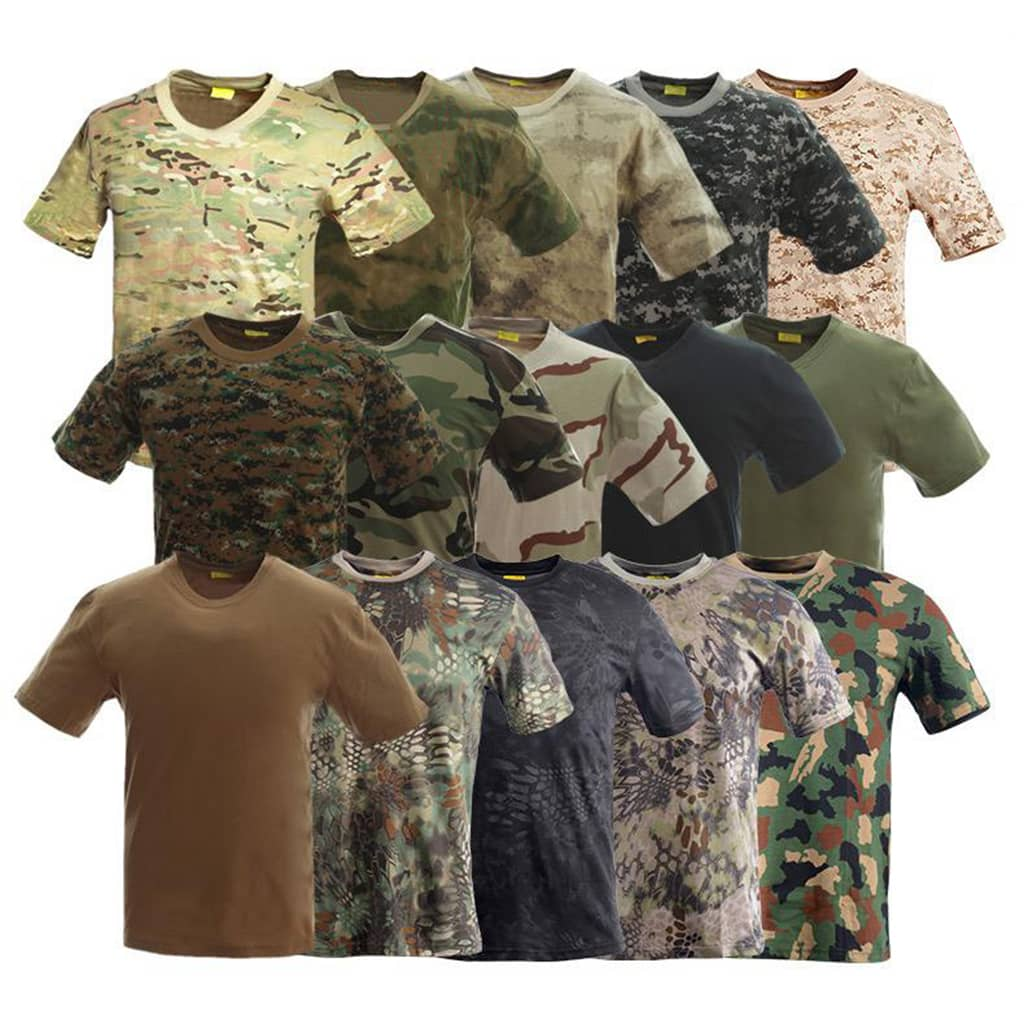 modern tactical t shirts for military and army
