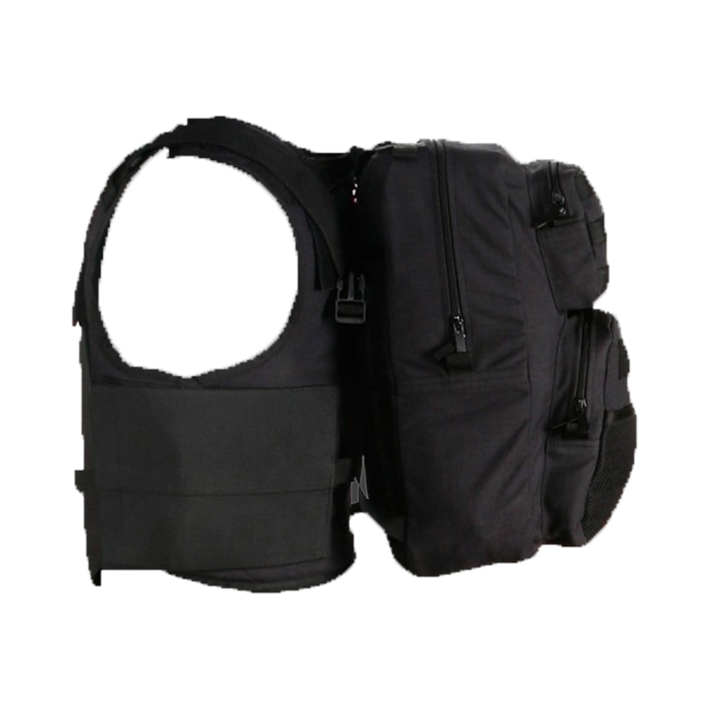 tactical plate carrier with back pack