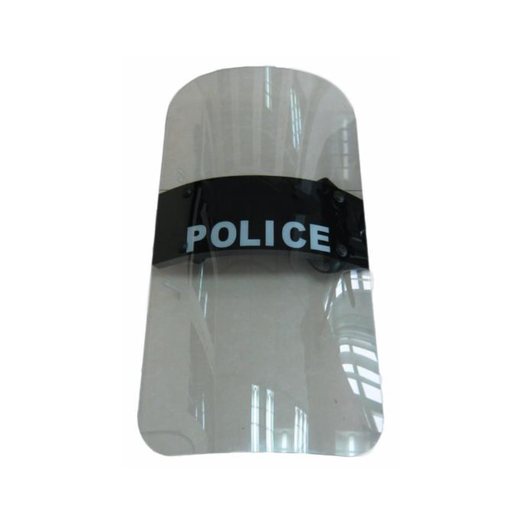 Anti riot law enforcement shield for police