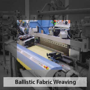ballistic kevlar fabric weaving