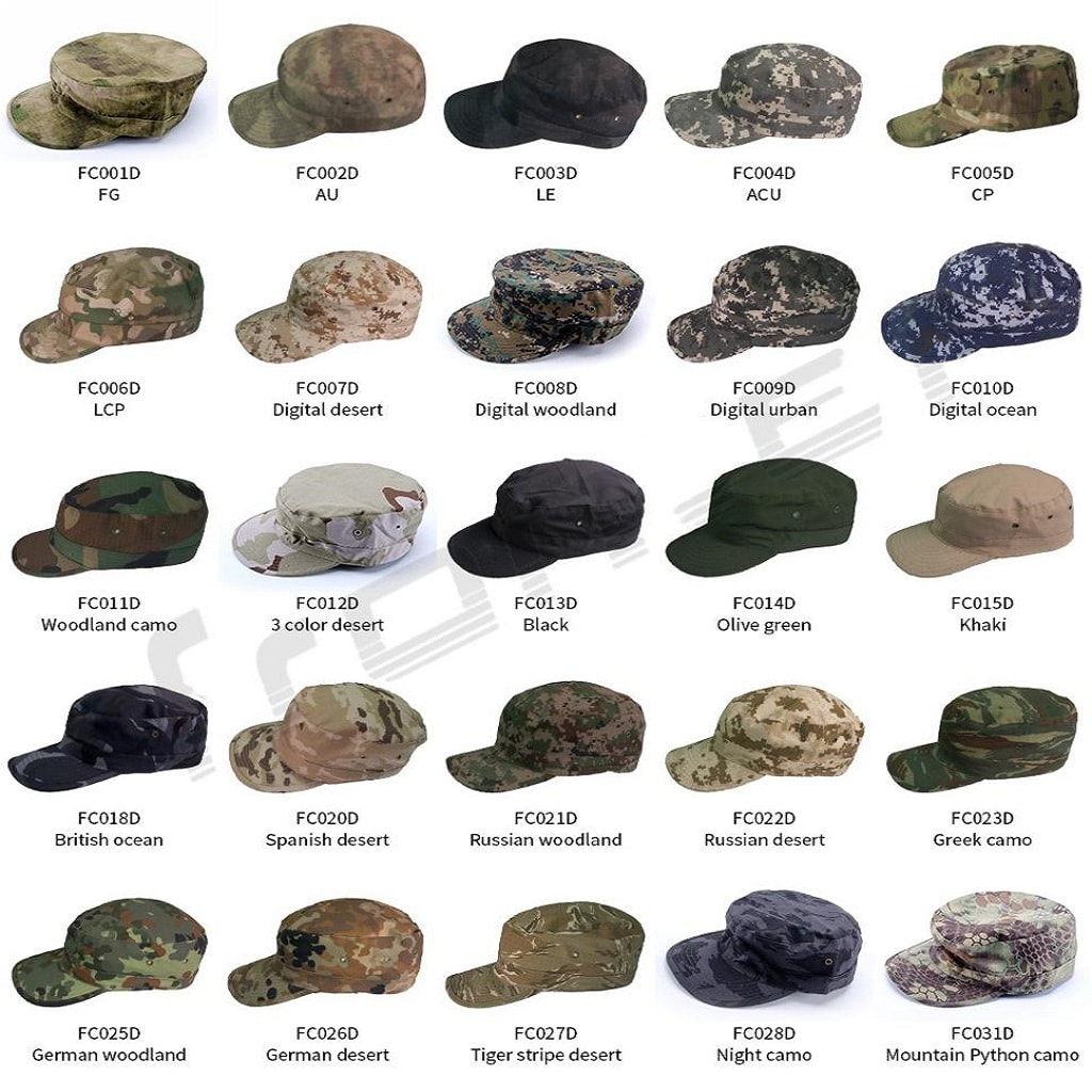 military style hats in uae