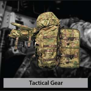 Tactical gears by hardshell fze