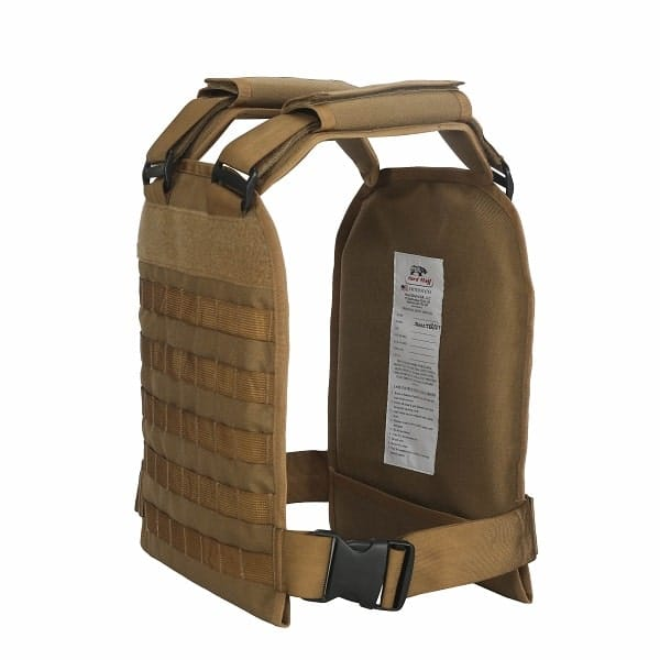 Police active shooter vest Side View